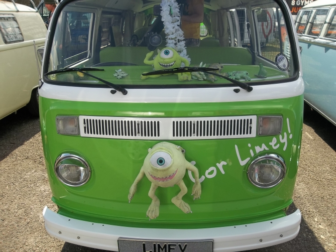 Ah Limey! Canny bloke