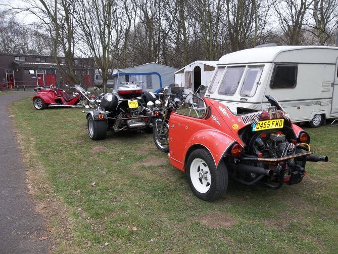 Ex beetles now Trikes