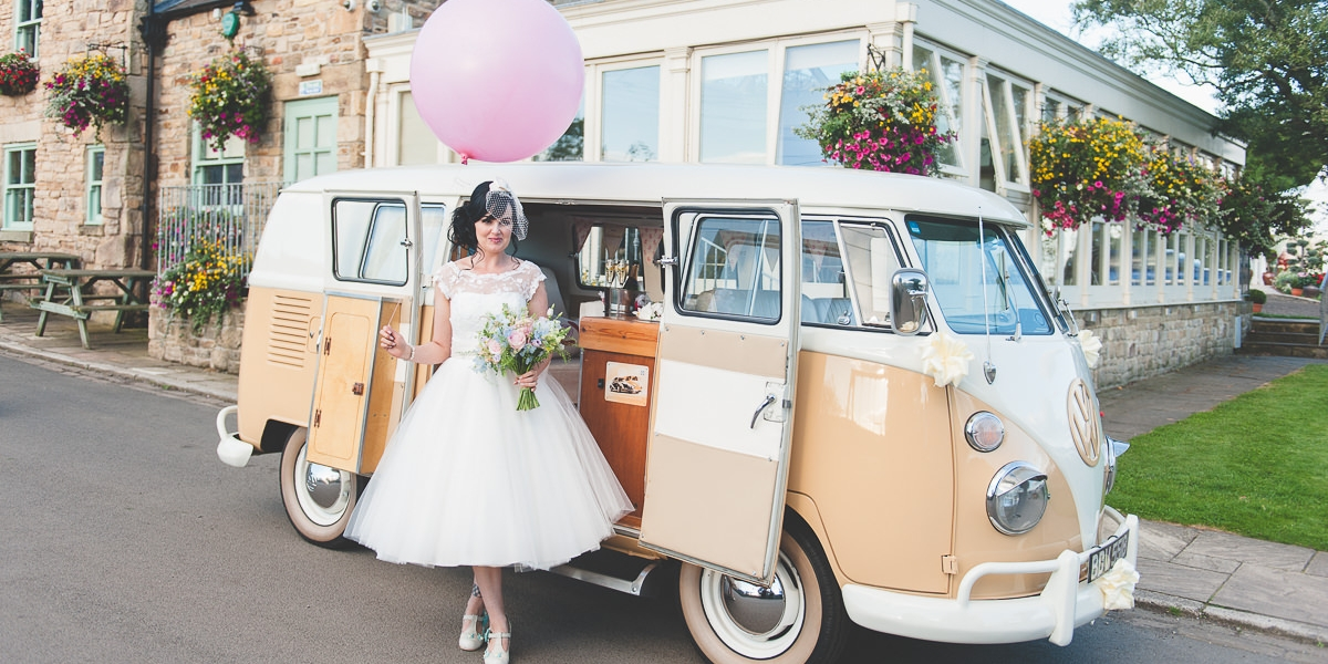 Where can I hire a VW Campervan and Beetle for my wedding transport