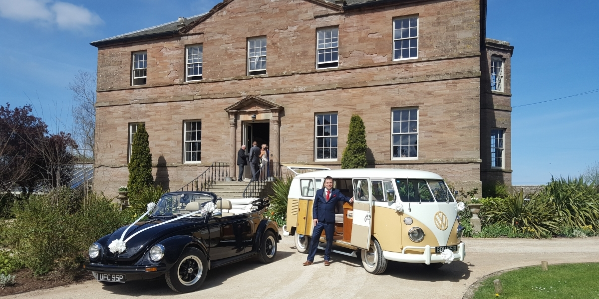 VW Wedding Cars for Hire in North East England, VW Campervan VW