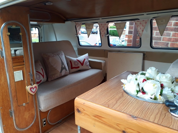 Posh VW Splitscreen Campervan Interior Fit Out | Canny Campers